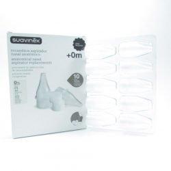Suavinex® aspirador nasal recambios 10uds