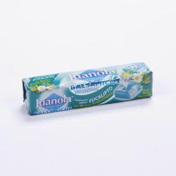 Juanola® caramelos balsámicos sabor eucalipto y hierbas medicinales 30g