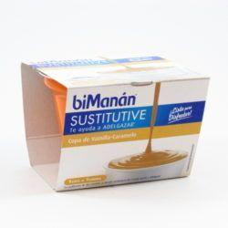 biManán® copa de vainilla y caramelo 210g-0