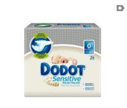 Dodot Sensitive T-0 hasta 3kg 24uds-0
