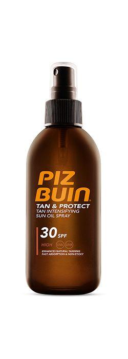 Piz Buin aceite tan & protect spf30 150ml-0