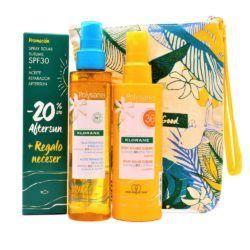 Polysianes pack spray solar spf30+ aceite reparafor after sun + neceser-0