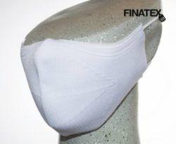 Mascarilla adulto blanca finatex-0