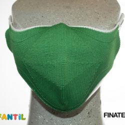 Macarilla  infantil verde finatex